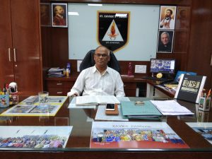 Principals Desk St Xaviers High School Surat